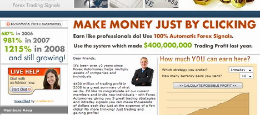 Forex signals and Forex Automoney, an excellent substitute combination to Forex Robots.